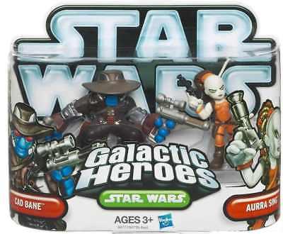 STAR Wars Galactic Heroes cad Bane Aurra Sing Action Figure