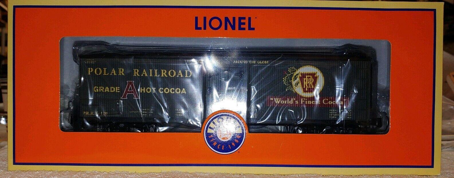 Lionel 6-27872 Polar RR Caliente Chocolate Chocolate Chocolate Milk auto. NIB, (F2) f0981f