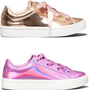 Details about Skechers HI LITES LIQUID BLING Ladies Shiny Fashion Trainers Casual Wear Comfort
