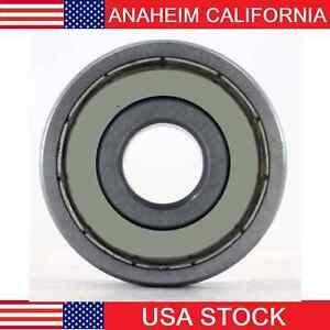 608-2Z Radial Ball Bearing Double Shielded Bore Dia. 8mm OD 22mm Width 7mm