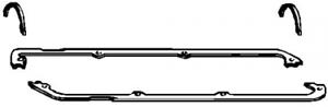 Dichtungssatz Zylinderkopfhaube für Zylinderkopf ELRING 102.769