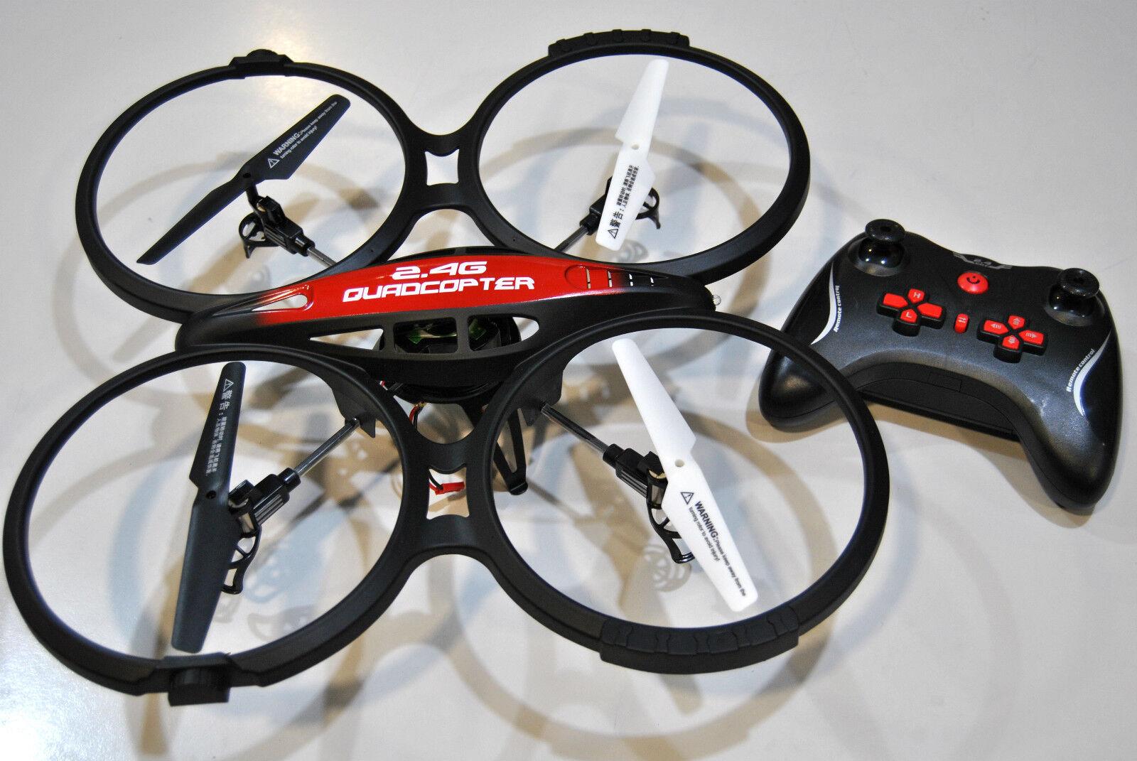 HI6036C Cuadricóptero HIMOTO SPIDER AVIÓN con Cámara/HIMOTO QUADCOPTER AI