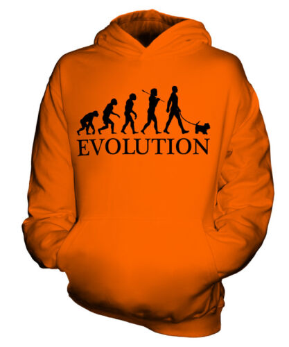 MALTESE EVOLUTION OF MAN KIDS HOODIE BOYS HOODY GIRLS DOG LOVER GIFT