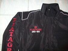 NEU FIATAGRI 180-90 Traktor Fan- Jacke schwarz (weinrot) jacket jas jakka giacca