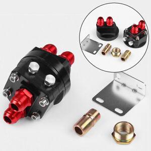 OIL-FILTER-SANDWICH-PLATE-ADAPTER-Relocate-Aluminum-Filter-Adapter-Plate-Kit
