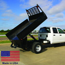 FLAT BED TRUCK DUMP KIT 12 to 14 Ft Flat Bed Trucks - 7.5 Ton Cap - Made in USA