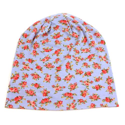 Pop Fashionwear Soft Jersey Flower Blossom Beanie 405HB