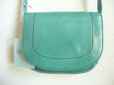 Hobo International Sierra Cross-Body Bag Jade Green Leather NWT