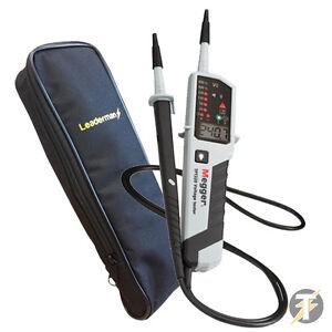 Megger-TPT320-LCD-AC-DC-Tensione-continuita-amp-Fase-Rotazione-Tester-LDMC1-Case