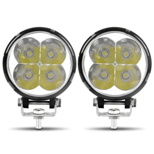 """3.5 inch Round Style Spot Led Work light 12W Driving SUV 4WD Fog Lamp 4/"""""""