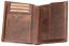 Indexbild 3 - Zander-Fisch-Angler-Geldboerse-Naturleder-Geldbeutel-Rindleder-Rustikal-Portmonai