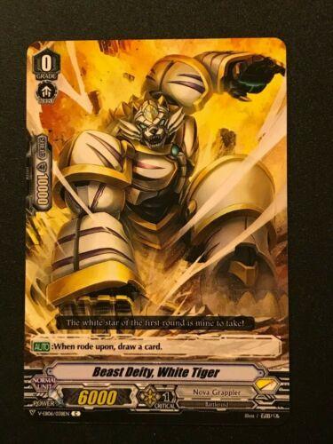 White Tiger V-EB06//038EN C Cardfight Nova Grappler Beast Deity