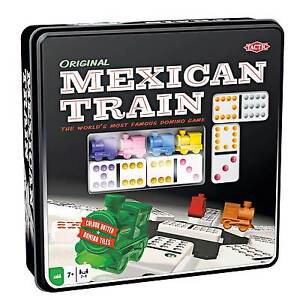 Mexican Train Dominoes Game Traditional Family Board Game Ebay
