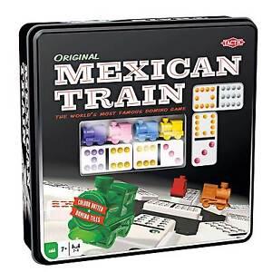 Mexican Train Domino Game Tradicional Juego De Mesa Familiar Ebay