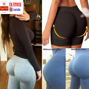 c1390e7f78bc3 Image is loading Woman-Padded-Bum-Pants-Hip-Enhancer-Shaper-Butt-