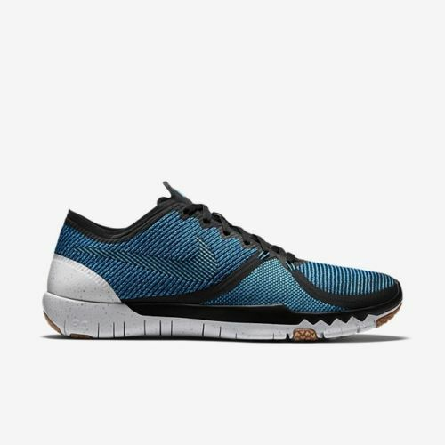 NoLid Nike Free Trainer 3.0 V4 Running Shoe 749361-004 Blue Blk MENS Sz 10 10.5