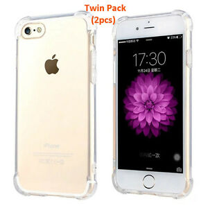 iPhone-8-Plus-7-Plus-Cover-Case-TPU-Silicon-Case-Twin-Pack-Promo-Clear