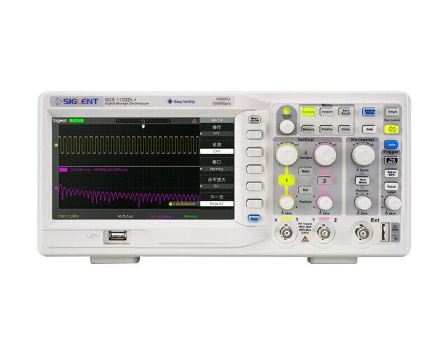 SIGLENT SDS1102DL 100MHz 2-Channel Digital Oscilloscope
