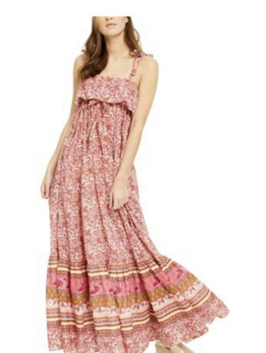 Details about  /NWT Free People Tangier Babydoll Maxi Dress Size XL $158.00