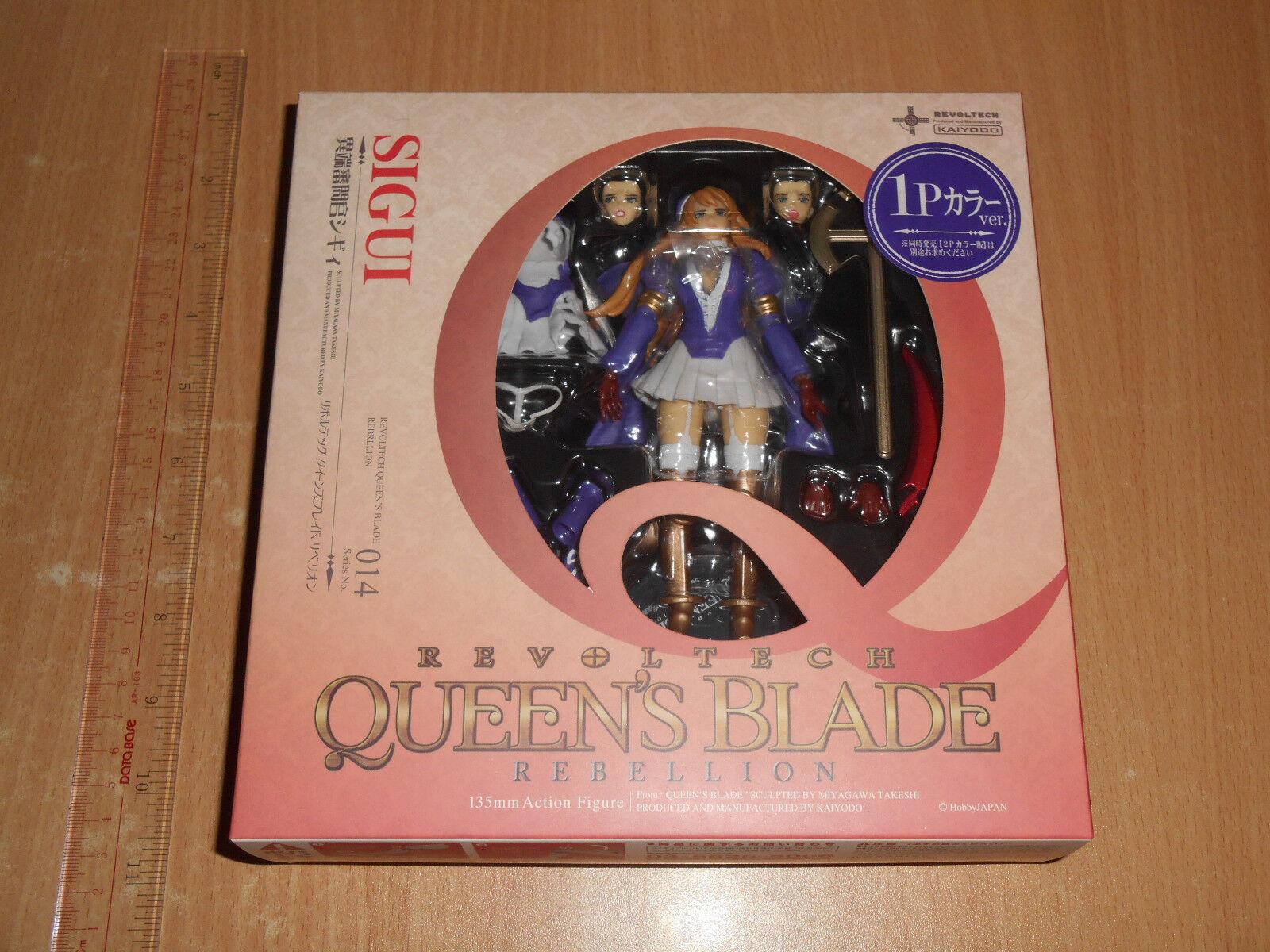 Kaiyodo Revoltech Queen's (Queens) Blade 014 sea figura 1P Color (jp)