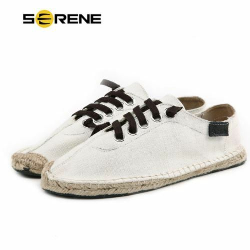 SERENE Brand 2017 Man Casual Canvas shoes Lace-up Flats Fashion Style Footwear
