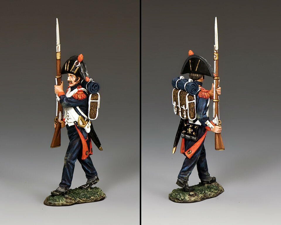 """KING AND COUNTRY French """"Bicorne Guard Advancing"""" (Shoulder Arms) NA391"""