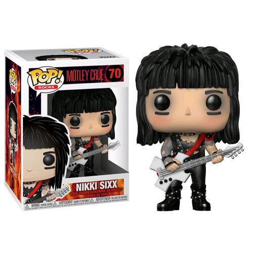 Motley Crue Band - Nikki Sixx Pop Vinyl Figure NEW Funko