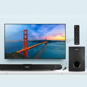 80CM TV Soundbar Heimkino Subwoofer Wireless Bluetooth Soundbar Koaxial Optisch
