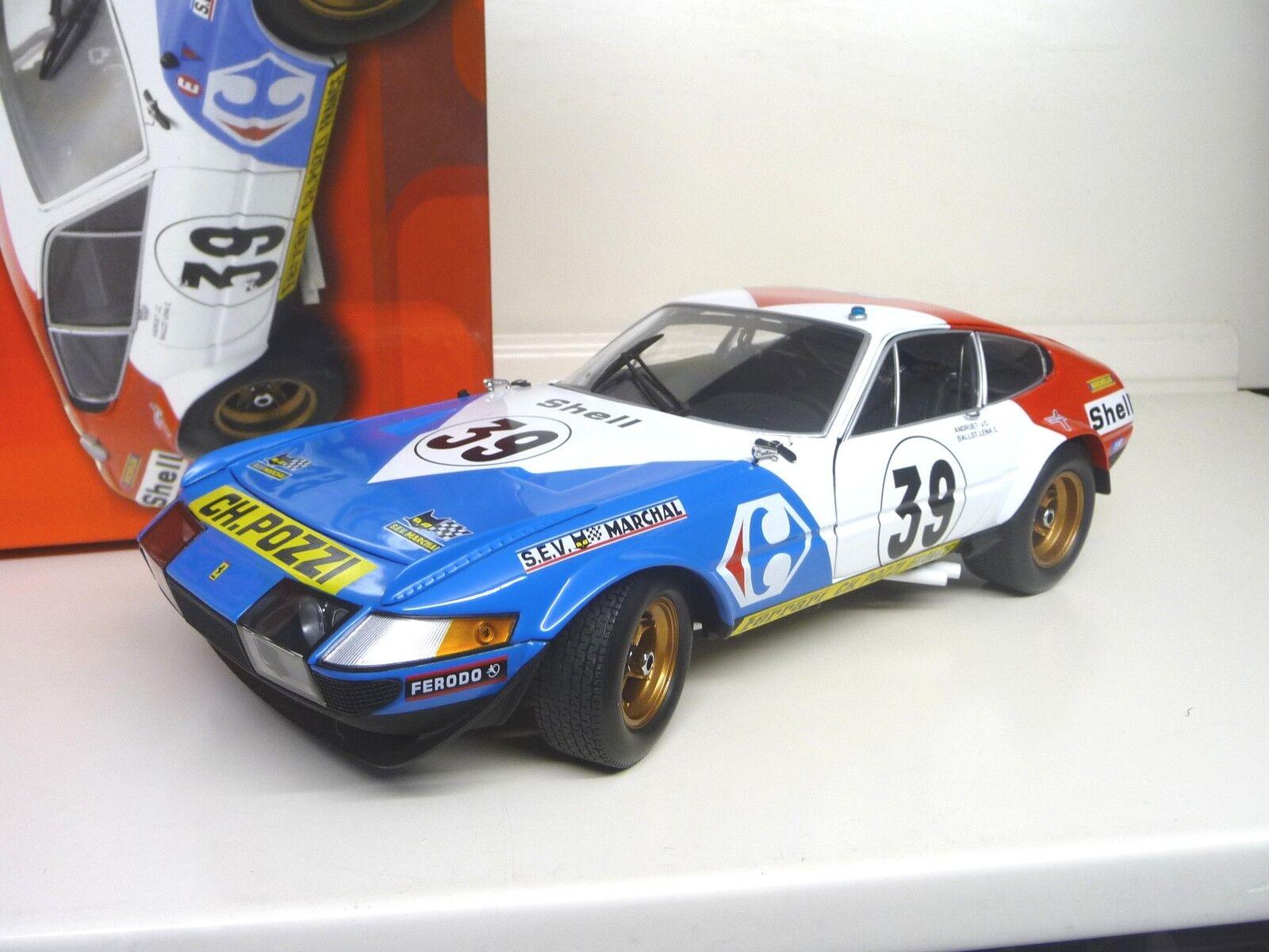 1:18 Kyosho Ferrari 365 gtb4 Competizione #39 Daytona Carrefour Neuf New | Promotions  | Online Shop  | La Conception Professionnelle