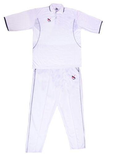 Season 2019 Men's Whites Cricket Shirt & Trouser UK Size (Sher Brand) sport kit,