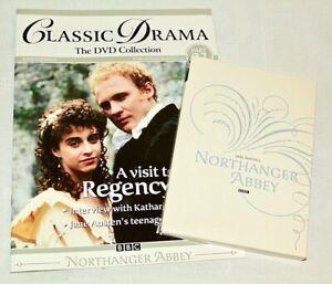 Northanger-Abbey-DVD-Classic-BBC-Drama-Magazine-Robert-Hardy-Jane-Austen-VGC