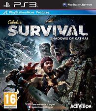 CABELA'S SURVIVAL  :  SHADOWS OF KATMAI           -----   pour PS3