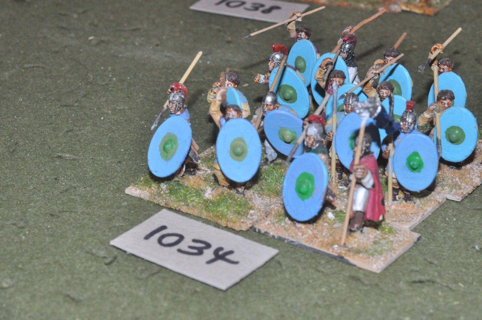25mm época Romana Romana-Late 16 infantería higos-INF (10034)