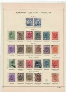 yugoslavia 1925 stamps page ref 17531
