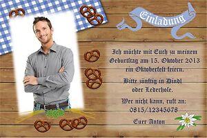 Das Bild Wird Geladen Einladung Geburtstag Party Feier Foto Karte Motto  Mottoparty