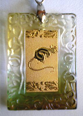 Beautiful Multicolor Necklace Silver Tone Chinese Zodiac Animal Symbols