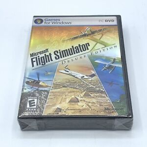 Microsoft Flight Simulator X Deluxe Edition for PC - New, Factory Sealed, Unopen