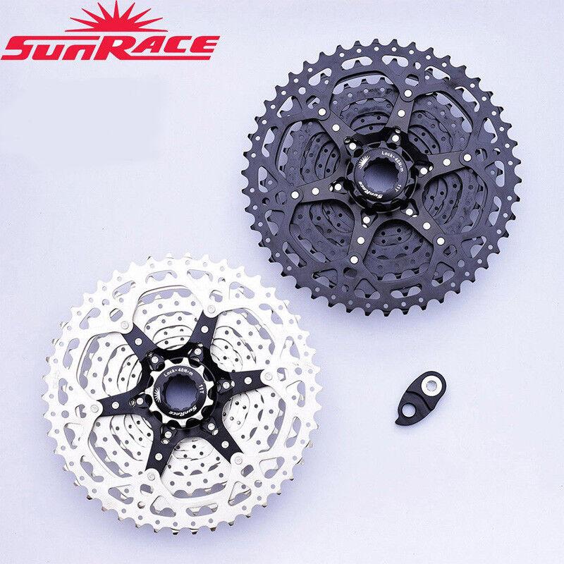 Sunrace 10-Speed 11-40 42 46t CSMS3 MTB Bike Cassette Cogs past in Shimano SRAM