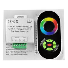 18A 5 Key Dimmer RF Touch Controller Panel Wireless Remote For RGB LED Strip NEW