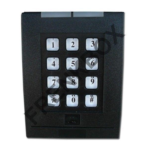 Teclado de Exterior para Alarma Control Acceso Card Read Fingerkey