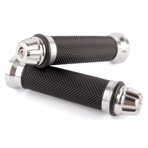 For Suzuki SV650S GSXR600 Universal Motorcycle Rubber Handlebar Hand Grips 7//8