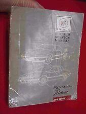 1989 buick reatta ebay 1989 buick reatta riviera chassis service manual publicscrutiny Gallery