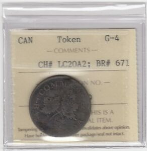 Lower-Canada-Br-671-CH-LC20A2-Bouquet-Sou-Token-Good