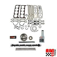 Chevy Sbc 305 350 5.7l Hp Rv Stage 1 420/433 Lift Camshaft Lifters Install Kit