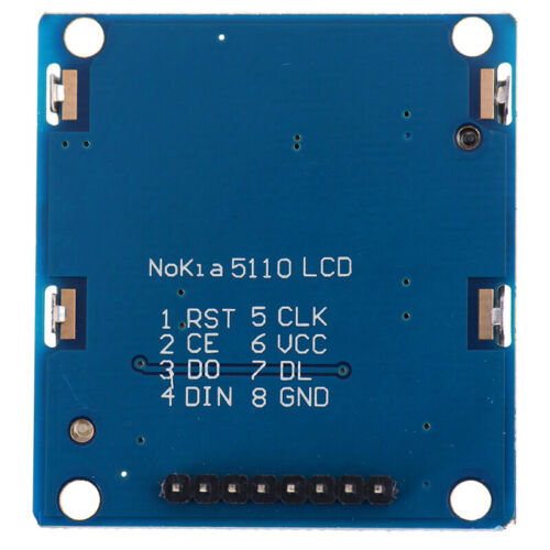 84x48 LCD Module Blue Backlight Adapter PCB 5110 LCD For Arduino HU