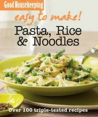 """AS NEW"" GH Easy to Make! Pasta, Noodles & Rice, Good Housekeeping, Book"