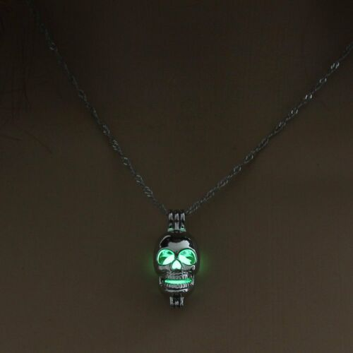 Fashion Dragon Horse Heart Glow In The Dark Pendant Necklace Women Jewelry Gift