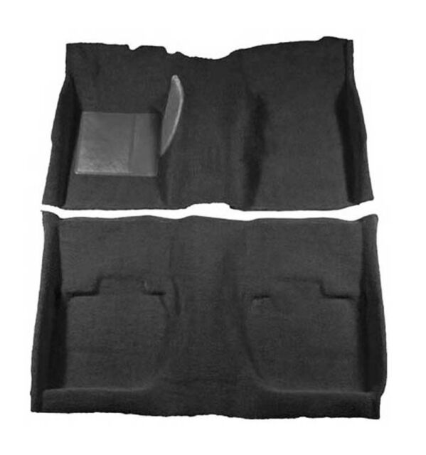 NEW! 1965-1966 Ford Mustang BLACK Carpet Set Front, Rear COUPE HARDTOP 100%