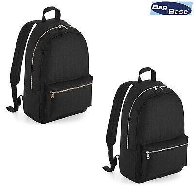 Der GüNstigste Preis Bagbase Metallic Zip Backpack Bg235 Gute WäRmeerhaltung