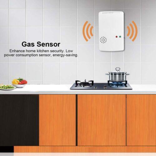 Tragbarer Gasleckdetektor Propan Butan Methan Erdgas Sicherer Alarmsensor